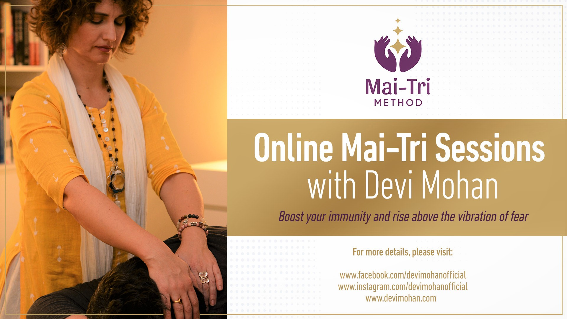 online Mai-Tri Sessions with Devi Mohan